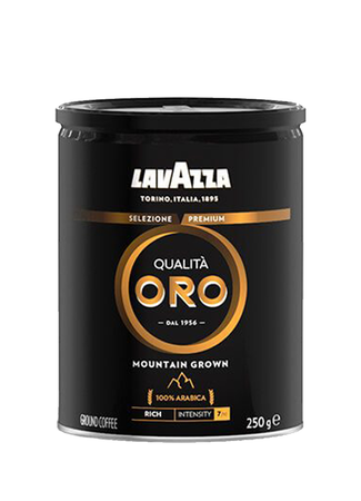 Lavazza Qualita Oro Mountain Grown, kawa mielona, puszka 250g (1)