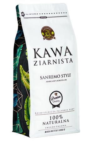 Sanremo Style świeżo palona, kawa ziarnista, 1kg (1)