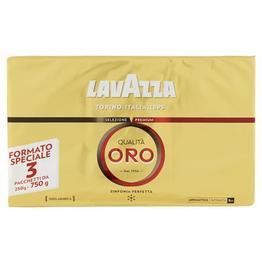 Lavazza Qualita Oro, kawa mielona, 3x250g