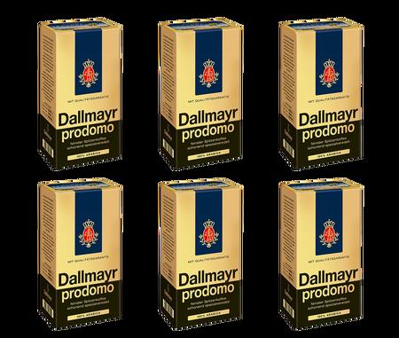 6x Dallmayr Prodomo kawa mielona 500g (1)