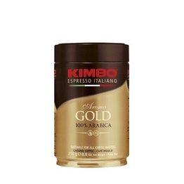 Kimbo Aroma Gold, kawa mielona, puszka 250g