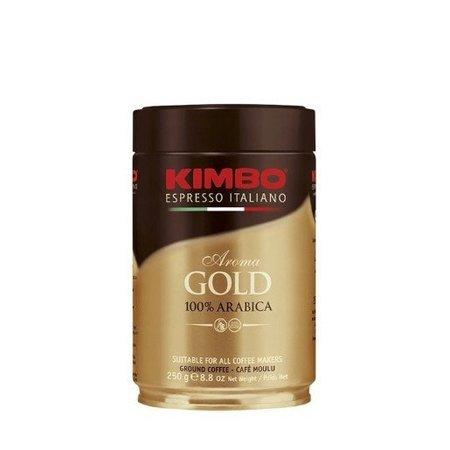Kimbo Aroma Gold, kawa mielona, puszka 250g (1)