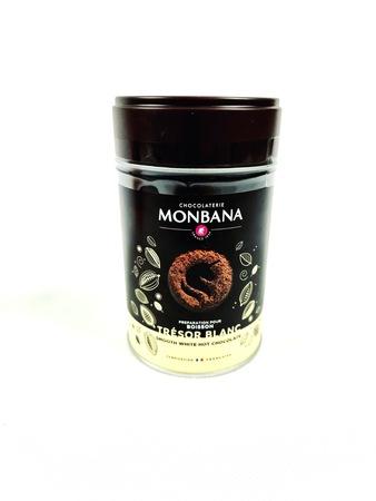 Biała Czekolada na gorąco Monbana Tresor Blanc 200g (1)