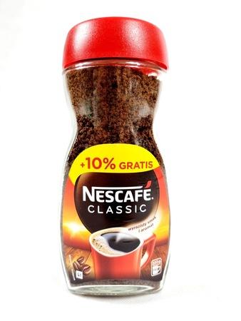 Nescafe Classic kawa rozpuszczalna 200g+ 10% gratis (1)