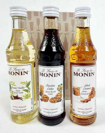 Zestaw kawowy syropów Monin 3x50ml-Coffee Set (1)