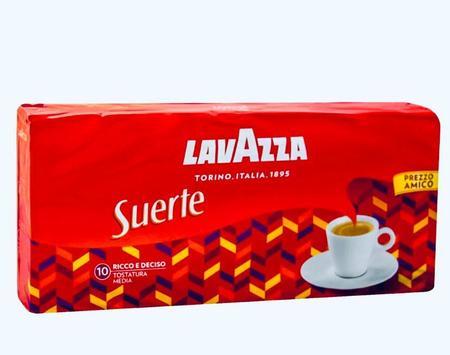Lavazza Suerte 4x 250g, kawa mielona (1)