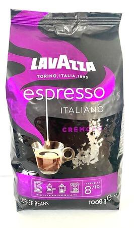Lavazza Espresso Italiano Cremoso, kawa ziarnista, 1kg (1)