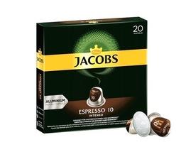 Jacobs Espresso Intenso 20 szt kapsułki NESPRESSO