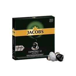 Jacobs Espresso Ristretto 12 kapsułk 20 szt. NESPRESSO