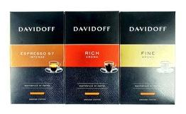 DAVIDOFF zestaw kawa mielona 3x 250g różne